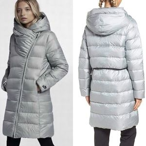 Nike NSW Silver Down Filled Iridescent Parka Sz M